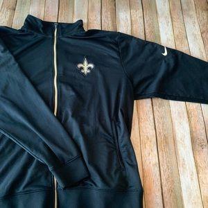 Nike Dri-fit men's New Orleans Saints Jacket